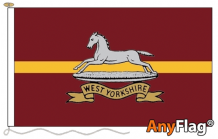 WEST YORKSHIRE REGIMENT ANYFLAG RANGE - VARIOUS SIZES